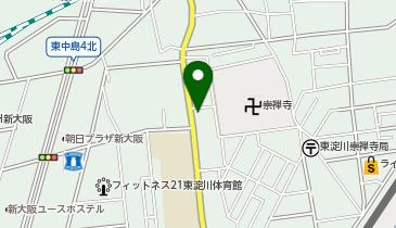 日之出東公園の地図画像