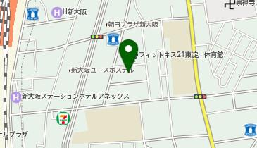 新駅2号公園の地図画像