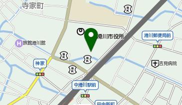 滑川市民会館大ホールの地図画像