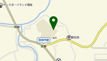 宮崎市穆佐小学校の地図画像