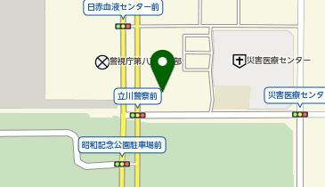 立川警察署の地図画像