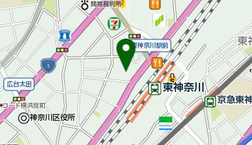 ミスタードーナツ 東神奈川駅前ショップの地図画像