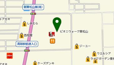 ミスタードーナツ ピオニウォーク東松山ショップの地図画像
