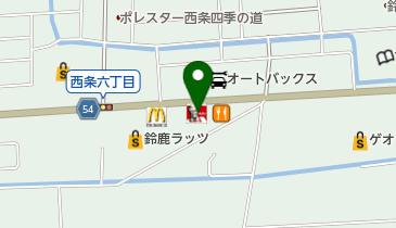 ケンタッキーフライドチキン 鈴鹿中央通り店の地図画像