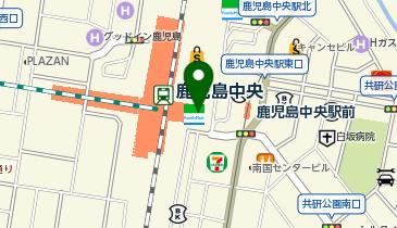 ケンタッキーフライドチキン JR鹿児島中央店の地図画像