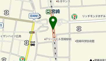 ケンタッキーフライドチキン JR宮崎店の地図画像