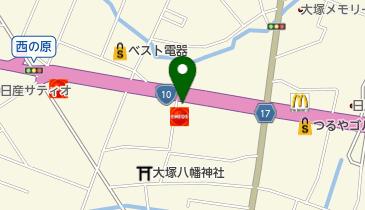 ケンタッキーフライドチキン 宮崎大塚店の地図画像
