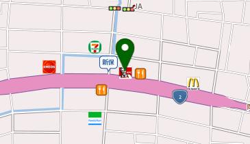 ケンタッキーフライドチキン 岡山新保店の地図画像