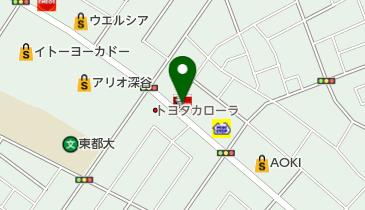 ケンタッキーフライドチキン 深谷店の地図画像
