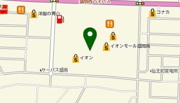 ケンタッキーフライドチキン イオンモール盛岡南店の地図画像