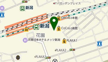 ケンタッキーフライドチキン CoCoLo新潟店の地図画像