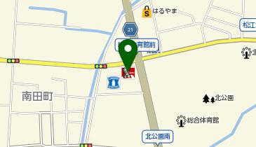 ケンタッキーフライドチキン 松江店の地図画像