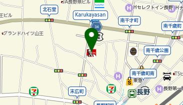 ケンタッキーフライドチキン 長野駅前店の地図画像