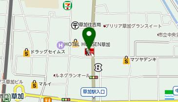 ケンタッキーフライドチキン 草加店の地図画像
