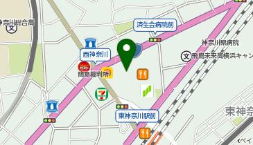 ケンタッキーフライドチキン イオン東神奈川店の地図画像