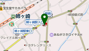 ケンタッキーフライドチキン 姉ケ崎店の地図画像