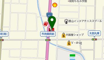 ケンタッキーフライドチキン 富山インター店の地図画像