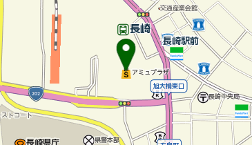 ケンタッキーフライドチキン JR長崎店の地図画像