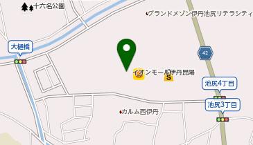 ケンタッキーフライドチキン イオンモール伊丹昆陽店の地図画像