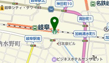 スターバックスコーヒー ASTY岐阜店の地図画像