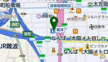 スターバックスコーヒー なんば 御堂筋グランドビル店の地図画像