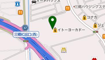 スターバックスコーヒー 三郷イトーヨーカドー店の地図画像