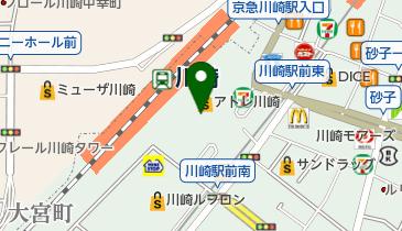 スターバックスコーヒー アトレ川崎店の地図画像