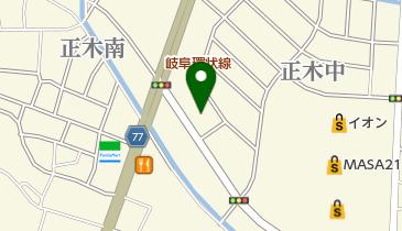 スターバックスコーヒー 岐阜正木店の地図画像