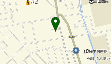 シャトレーゼ 婦中店の地図画像
