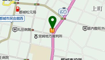 すき家 10号都城上町店の地図画像