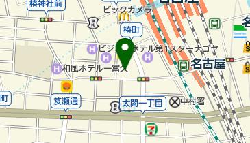 すき家 名駅西店の地図画像