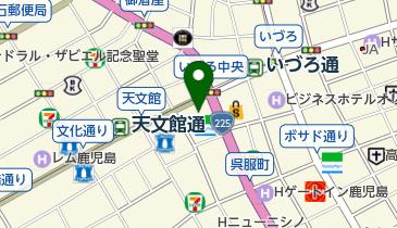 すき家 鹿児島天文館店の地図画像