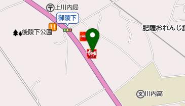 すき家 3号薩摩川内店の地図画像
