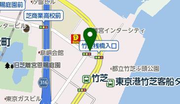 すき家 竹芝店の地図画像