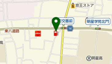 すき家 府中栄店の地図画像