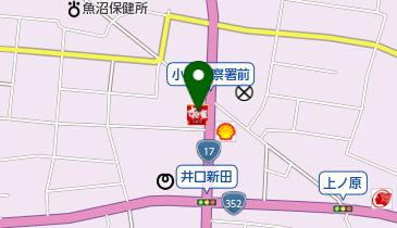 すき家 17号魚沼店の地図画像
