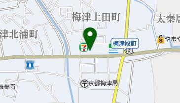 すき家 四条梅津店の地図画像