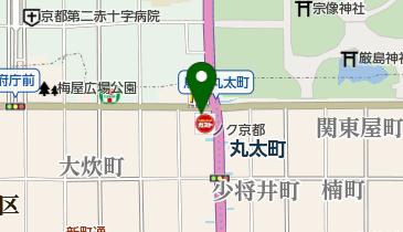 すき家 烏丸丸太町店の地図画像