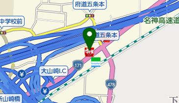 すき家 大山崎IC店の地図画像