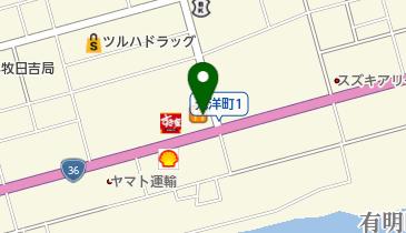 すき家 36号苫小牧日吉店の地図画像
