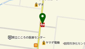 すき家 鶴岡道形店の地図画像