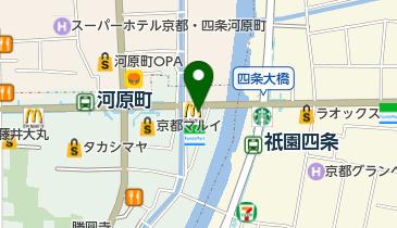 すき家 四条木屋町店の地図画像