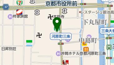 すき家 河原町三条店の地図画像