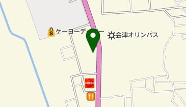 すき家 会津門田店の地図画像