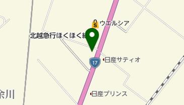 すき家 17号六日町IC東店の地図画像