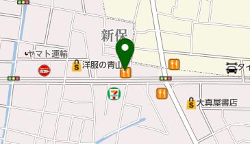 すき家 岡山新保店の地図画像