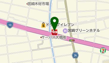 すき家 10号宮崎大橋店の地図画像