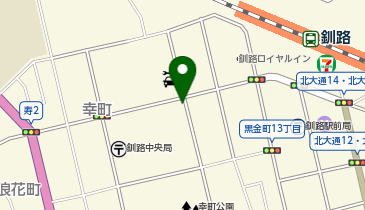 日産レンタカー 釧路駅前店の地図画像