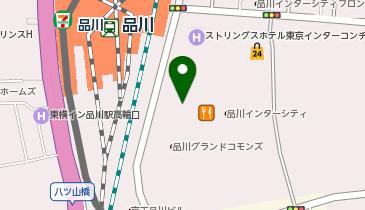 日産レンタカー 品川駅港南口店の地図画像