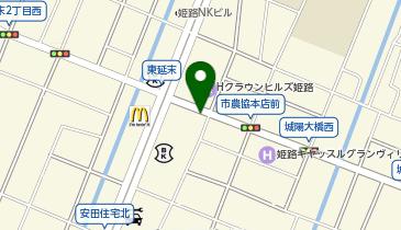 日産レンタカー 姫路店の地図画像